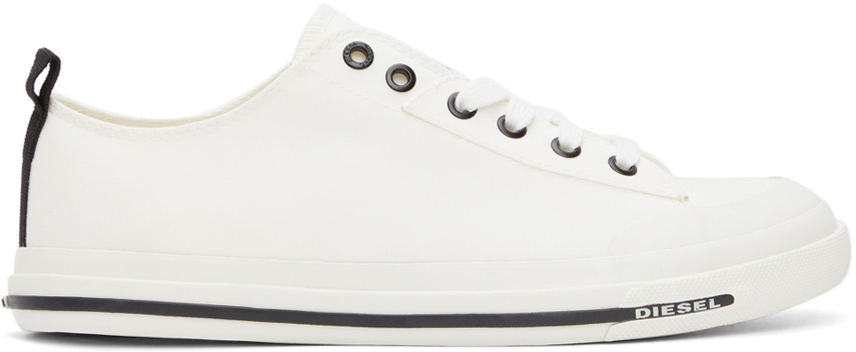 Diesel 白色 S-Astico 运动鞋