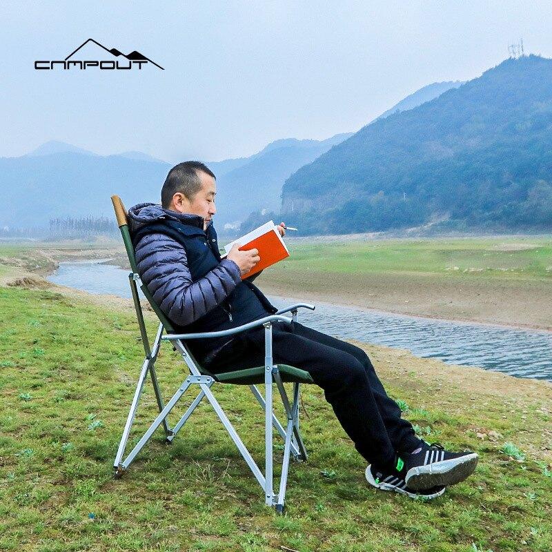 CAMPOUT戶外折疊椅便攜釣魚凳美術寫生鋁管椅