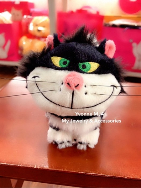 *Yvonne MJA* 日本迪士尼 Disney 限定正品 Lucifer 魯斯佛 精緻 吊飾娃娃 壞貓咪 仙度瑞拉 灰姑娘