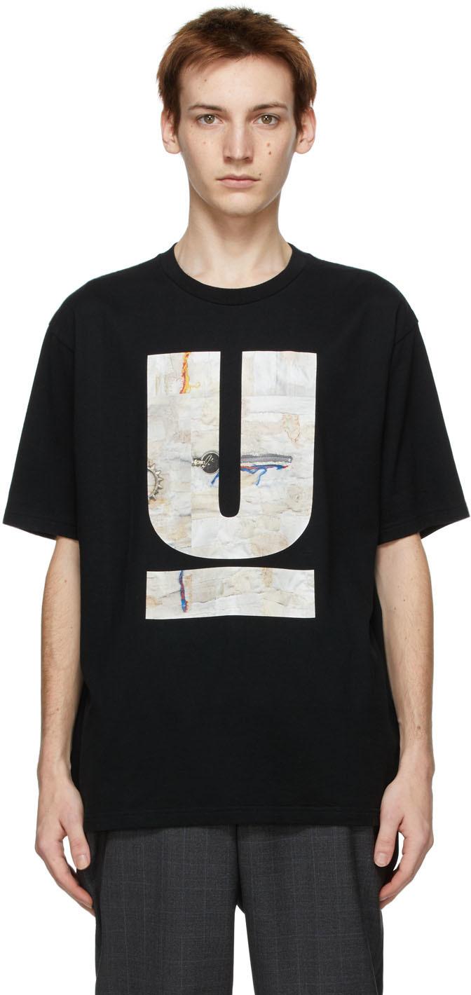 Undercover 黑色 U Scab 30th Anniversary T 恤