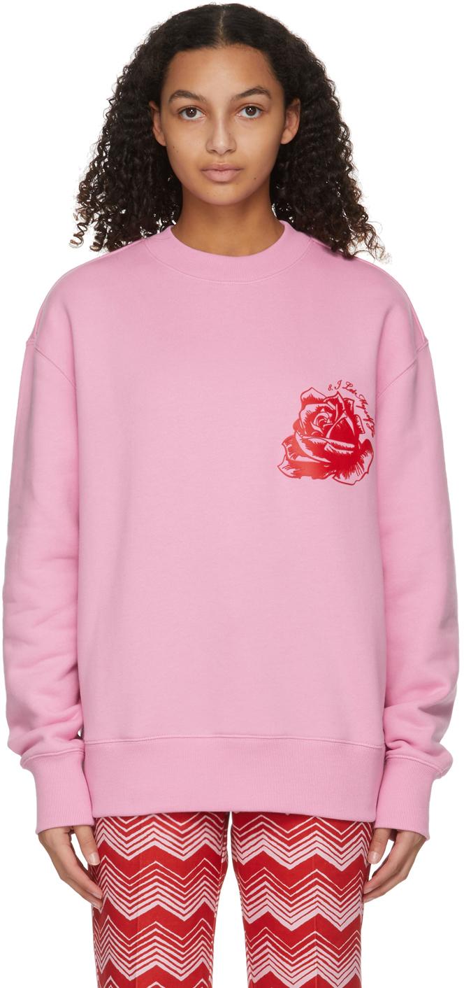 SSENSE WORKS Jeremy O. Harris 系列粉色 Rose 套头衫