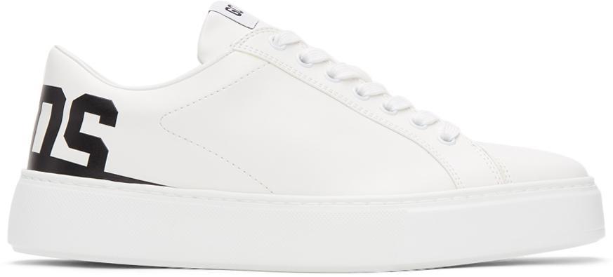 GCDS 白色 Bucket 运动鞋