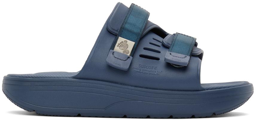 Suicoke 海军蓝 URICH 拖鞋