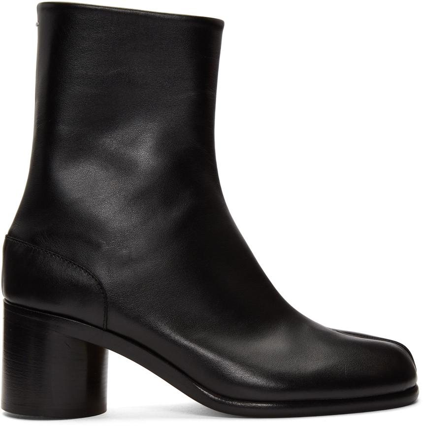 Maison Margiela 黑色 Tabi 踝靴