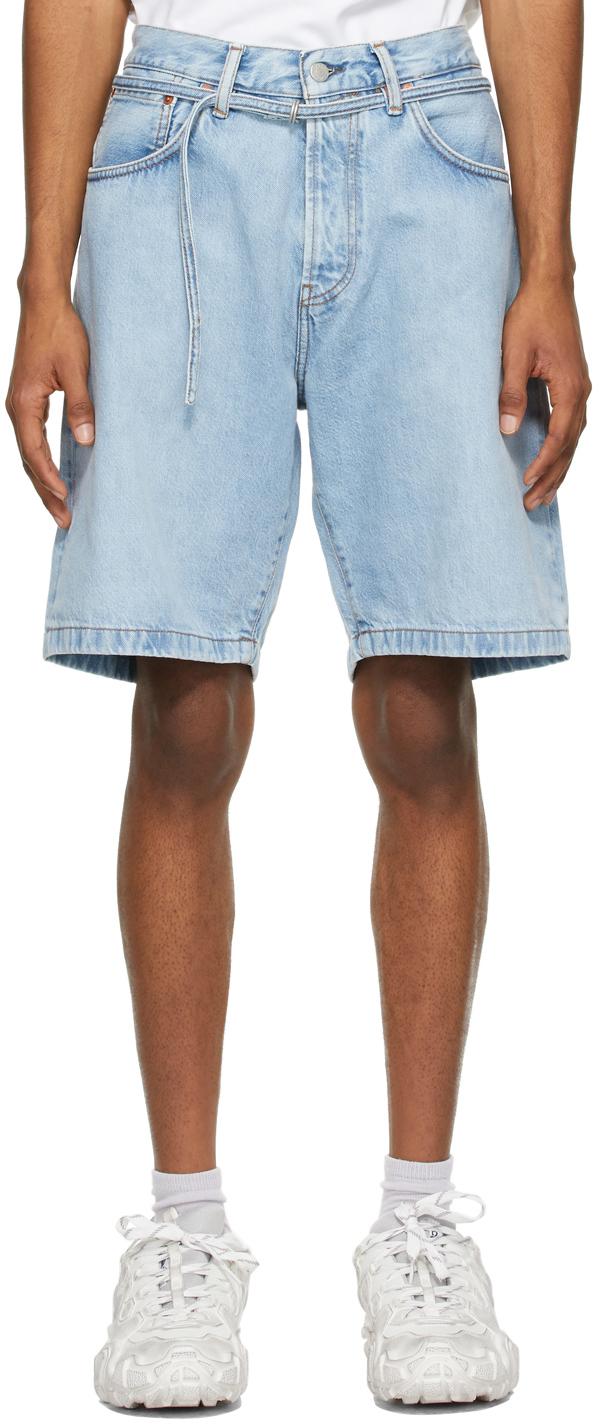 Acne Studios 蓝色牛仔短裤