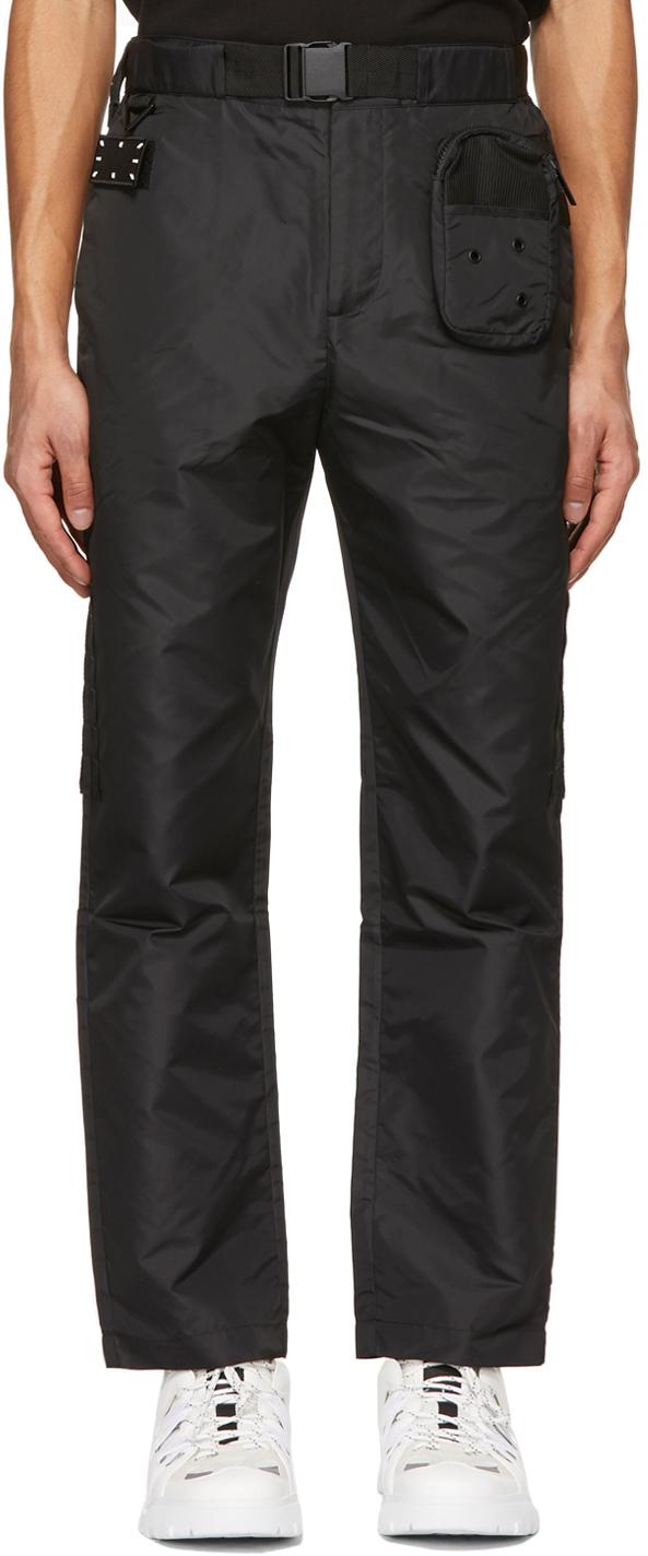 MCQ 黑色 Modular Jack Branded 长裤