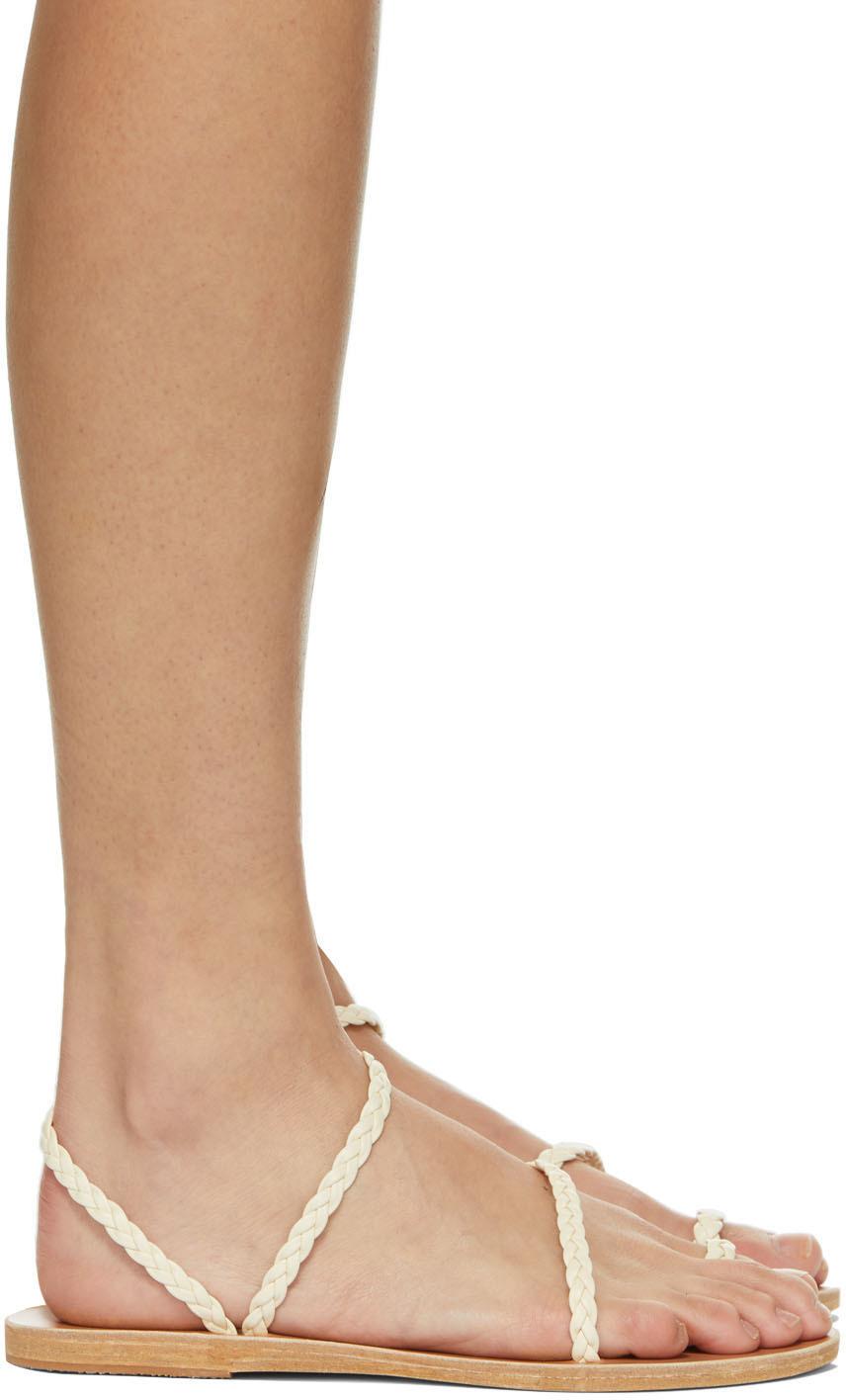 Ancient Greek Sandals 灰白色 Eleftheria 凉鞋