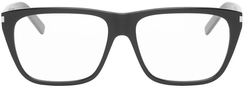 Saint Laurent 黑色 SL 434 Slim 眼镜