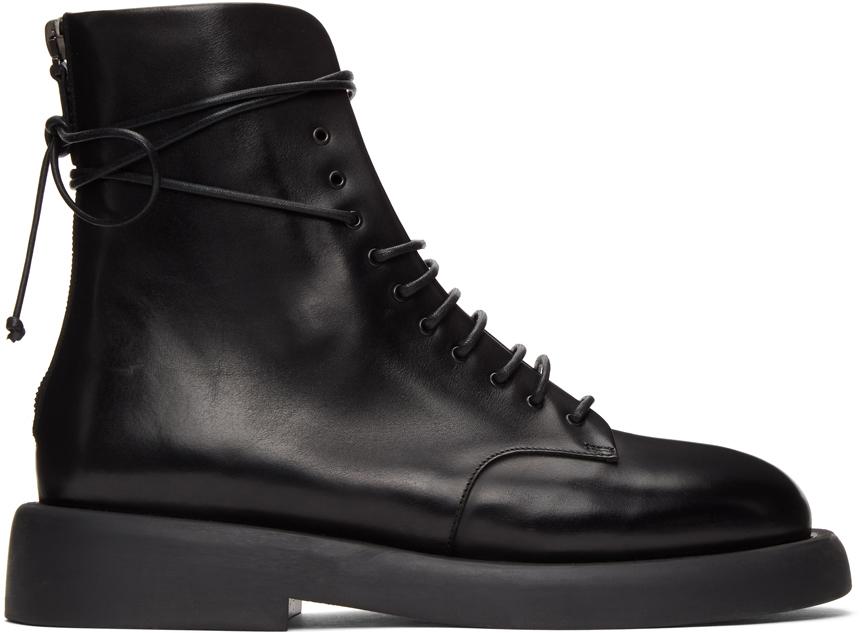 Marsèll 黑色 Gommello 踝靴