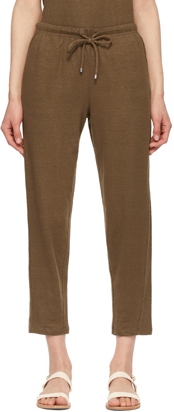 Max Mara Leisure 棕色 Bric 长裤