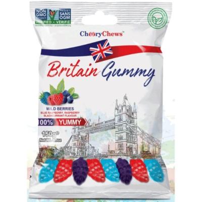 英國傳統風味軟糖(綜合野莓風味)150G