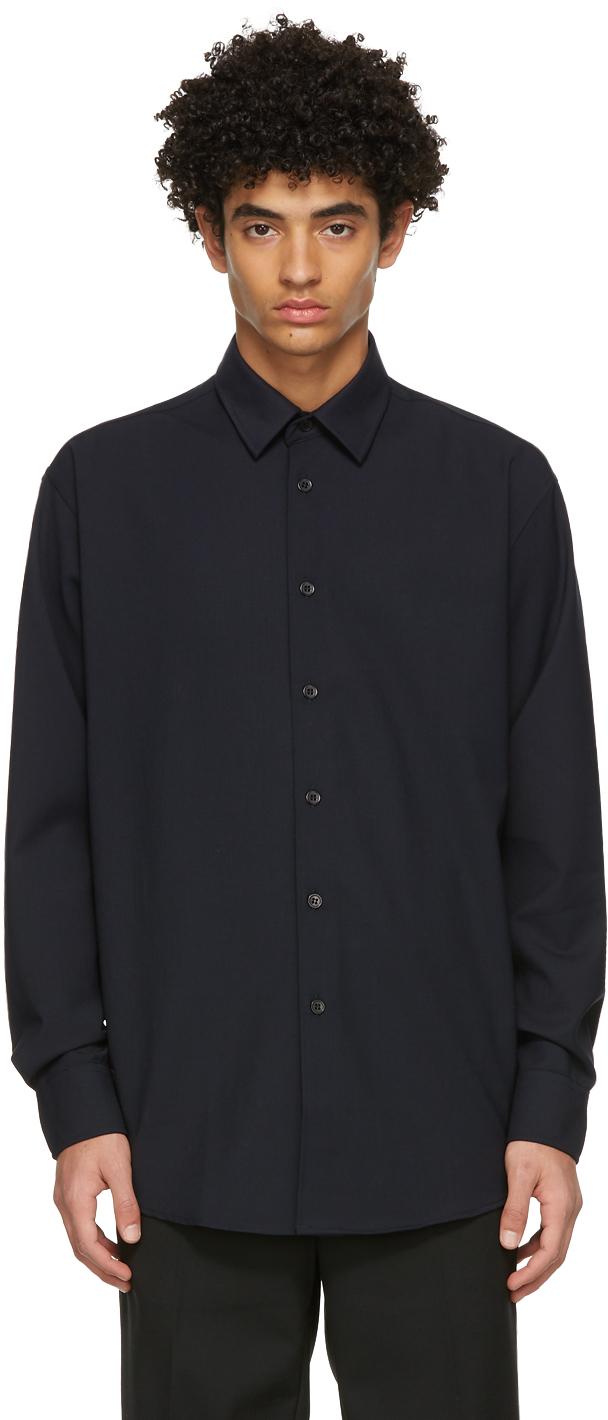 Soulland 海军蓝 Damon 衬衫