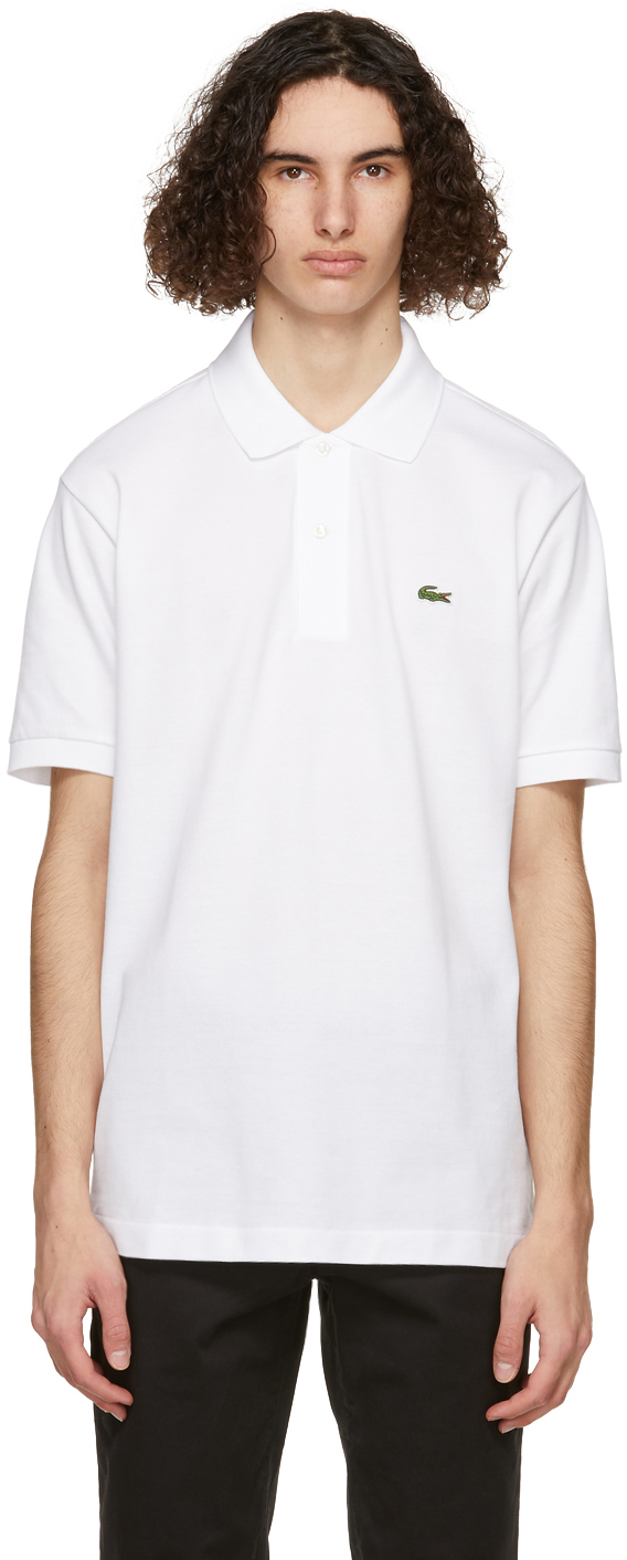Lacoste 白色 L.12.12 Polo 衫