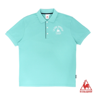 法國公雞牌短袖POLO衫 LOM2114543-男-湖綠