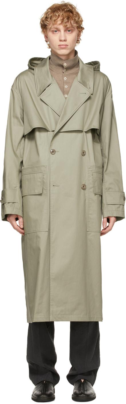 Lemaire 灰色机能风衣