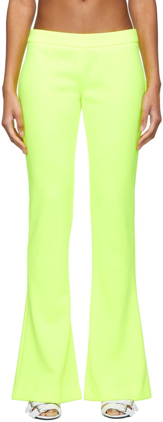 Balmain 黄色靴型长裤