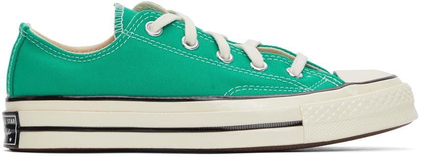 Converse 绿色 Chuck 70 OX 运动鞋