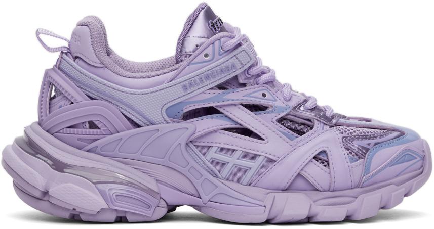 Balenciaga 紫色 Track 2.0 运动鞋