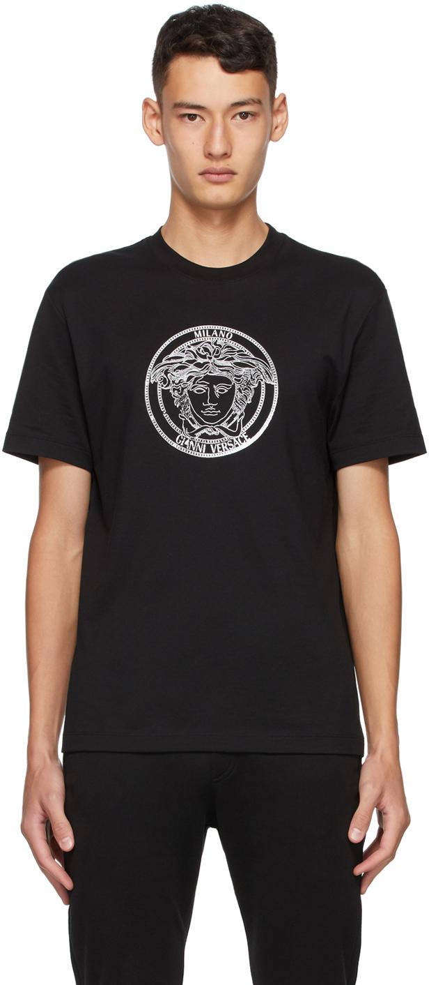 Versace 黑色 Medusa Taylor T 恤