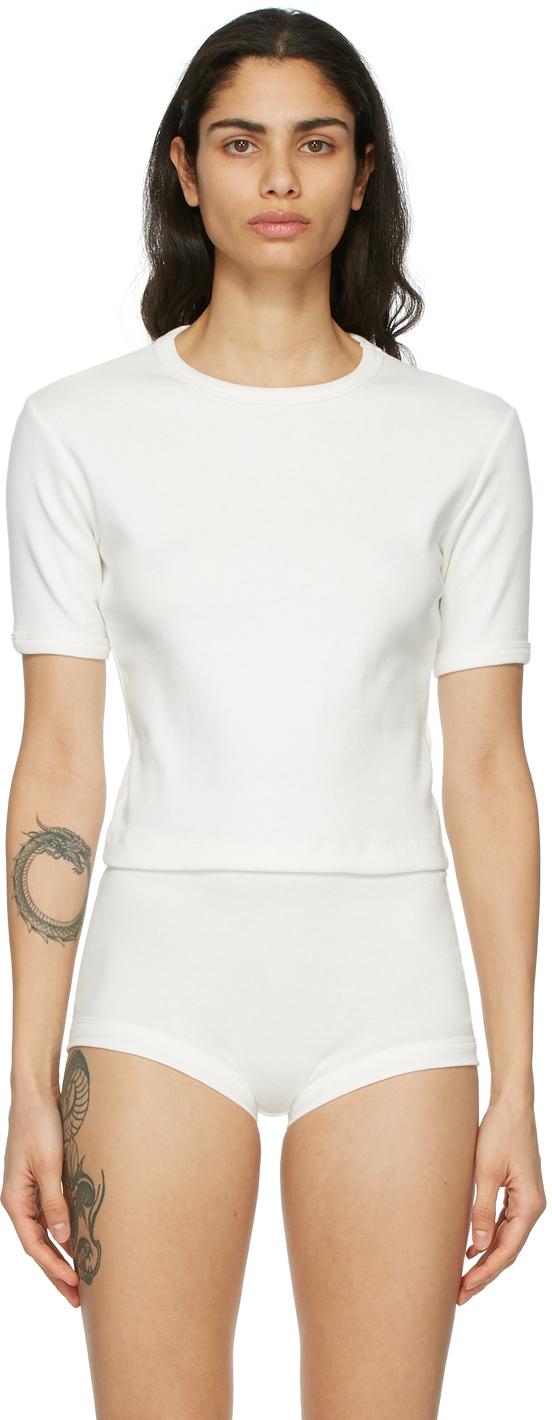 Nu Swim 白色 Daily T 恤