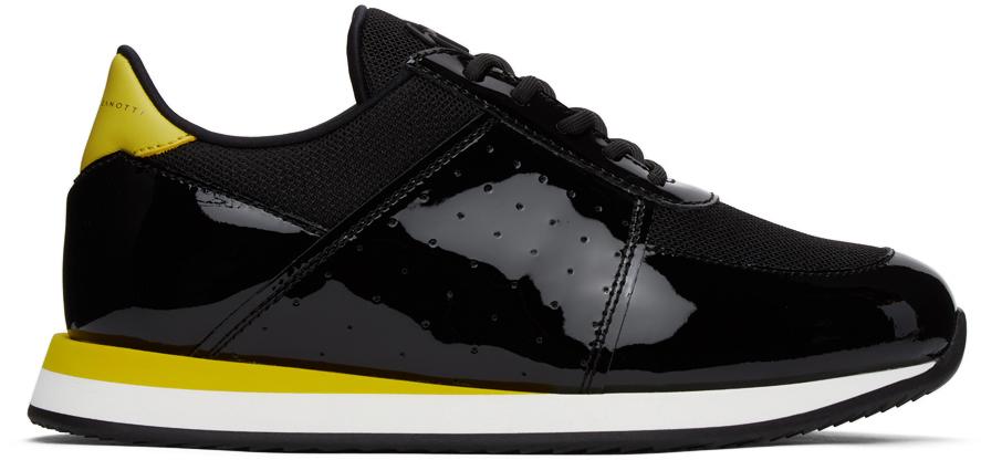 Giuseppe Zanotti 黑色 Megatron 运动鞋