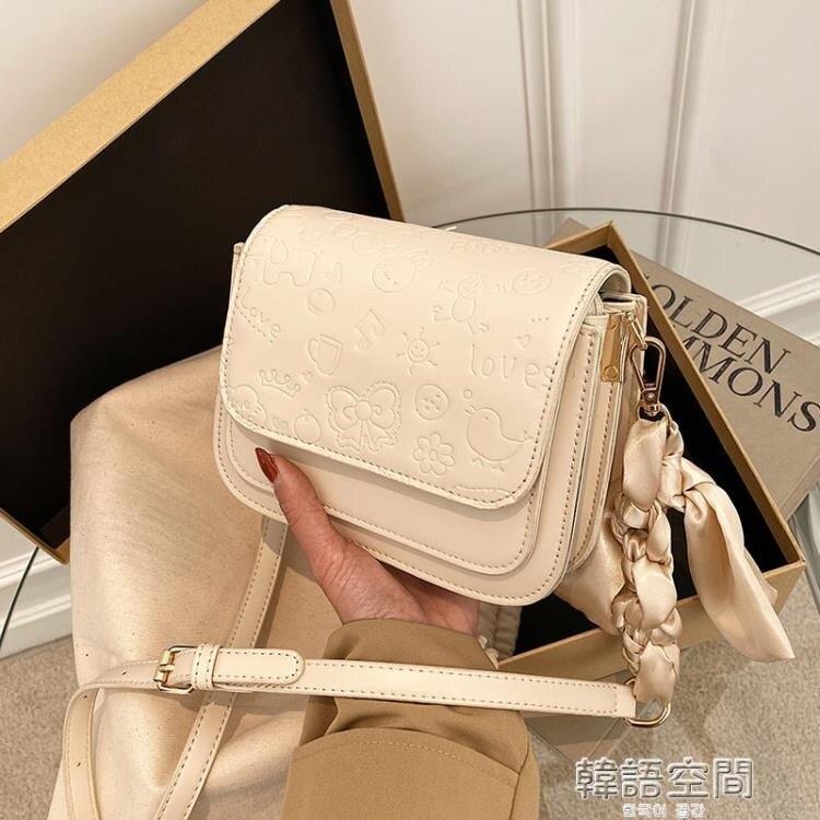 高級感小包包2021新款潮網紅時尚單肩女包斜挎百搭ins洋氣小方包側背包