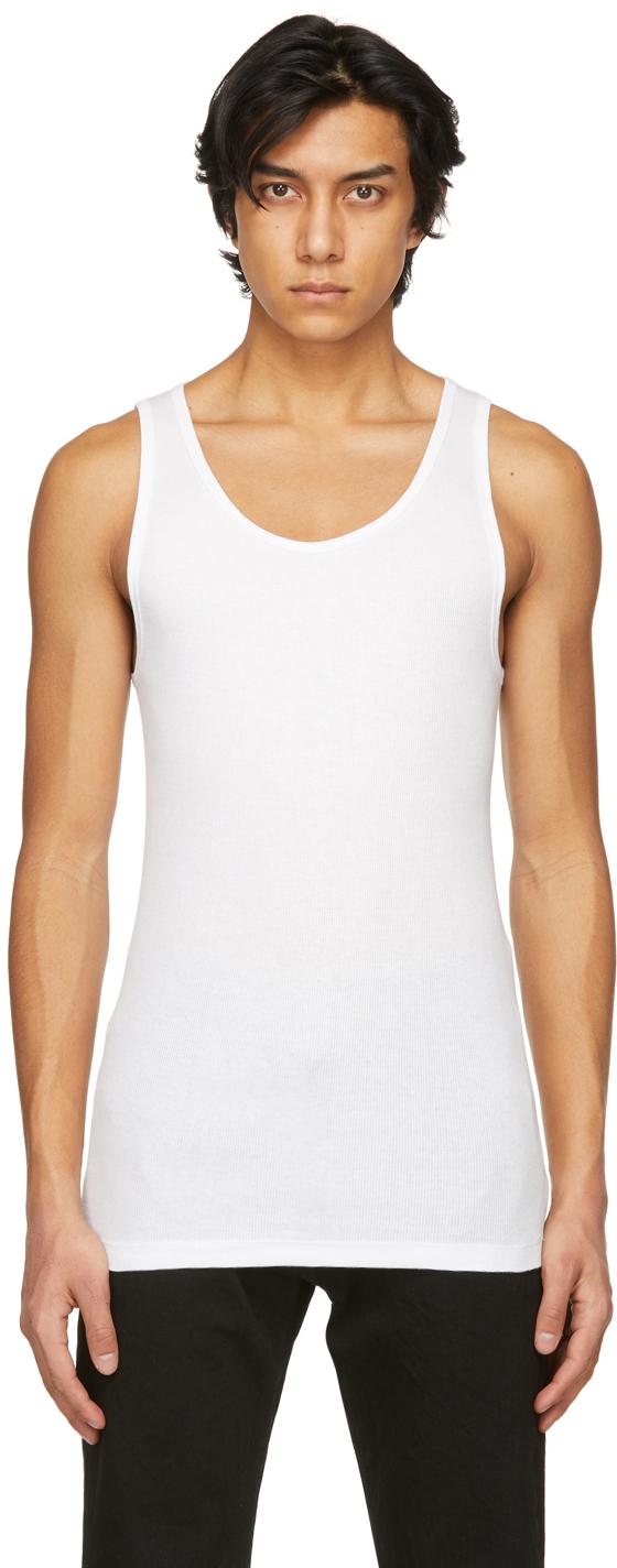 Calvin Klein Underwear 三件装白色 Classic 背心