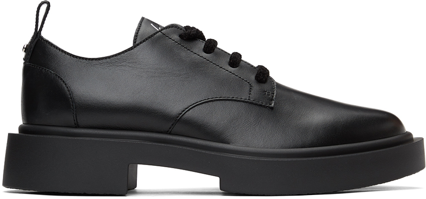 Giuseppe Zanotti 黑色 Nevada 德比鞋