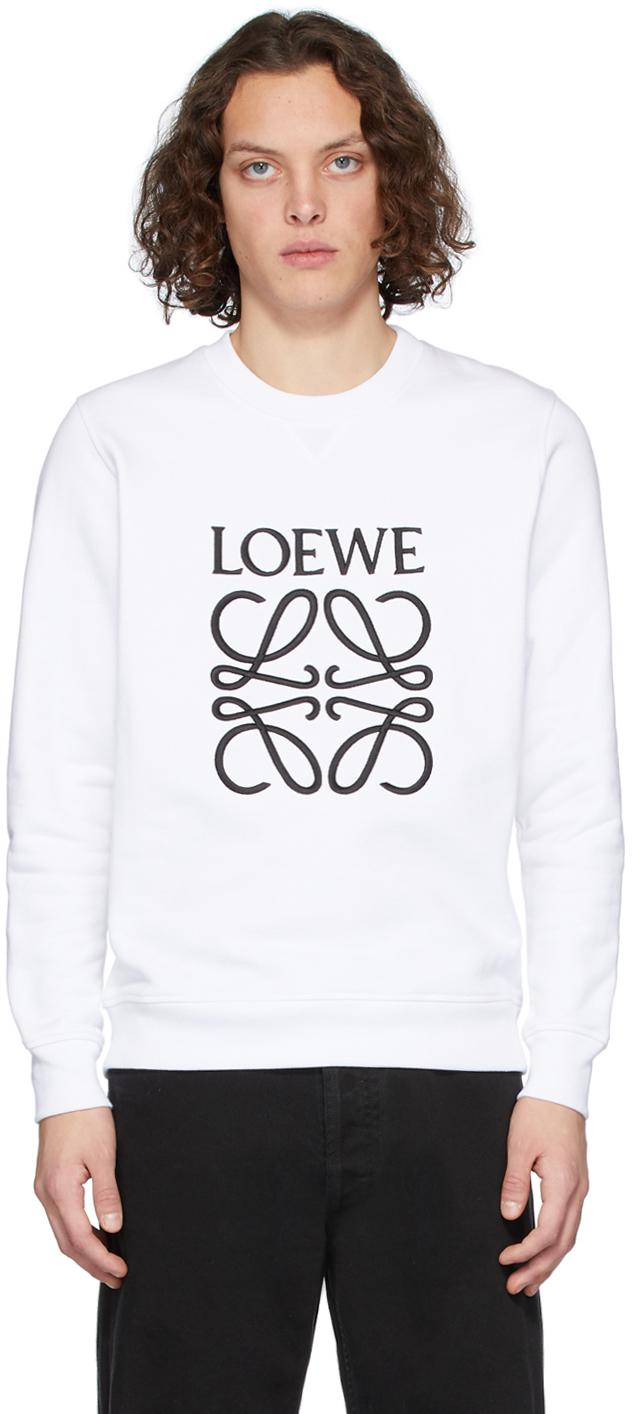 Loewe 白色 Anagram 套头衫