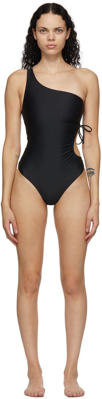 Jade Swim 黑色 Sena 连体泳衣