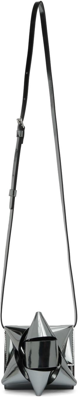 MM6 Maison Margiela 银色 Ribbon Bow 单肩包
