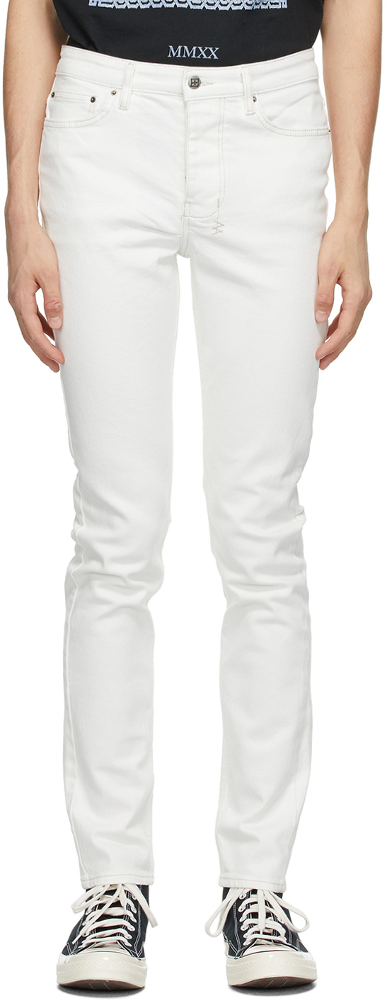 Ksubi 白色 Chitch 牛仔裤