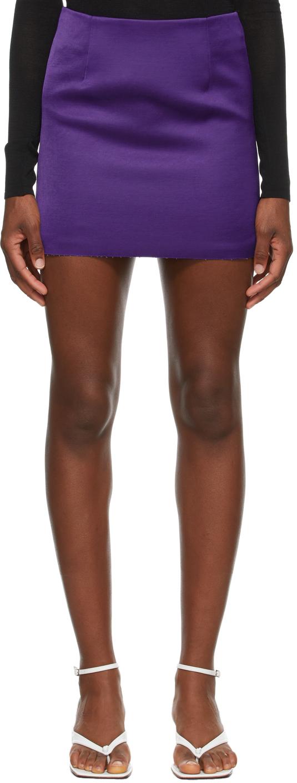 Georgia Alice 紫色 Power 短裙