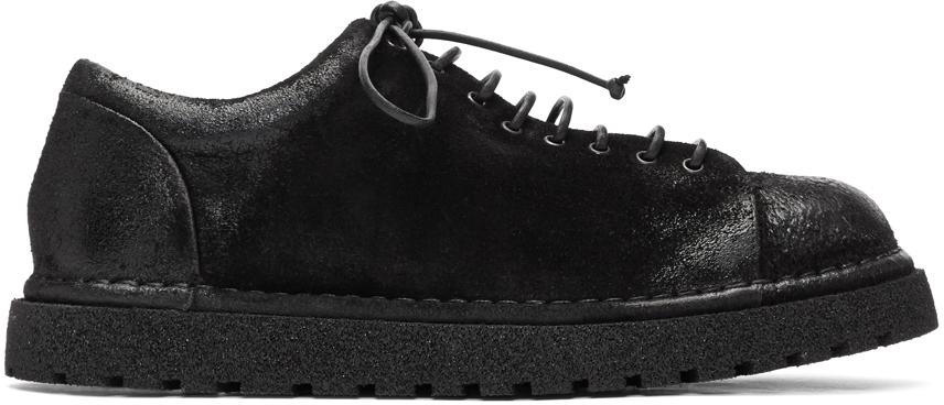 Marsèll 黑色 Gomme 系列低帮踝靴