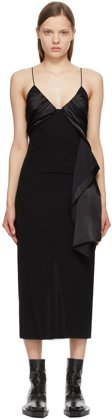 1017 ALYX 9SM 黑色 Foulard Formal 连衣裙