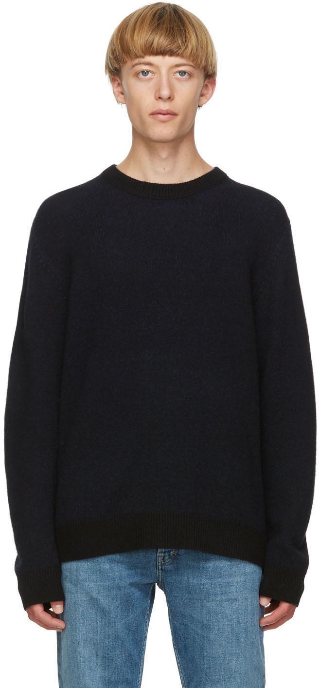 Acne Studios 黑色羊绒毛衣