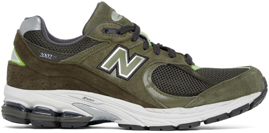 New Balance 军绿色 2002R 运动鞋