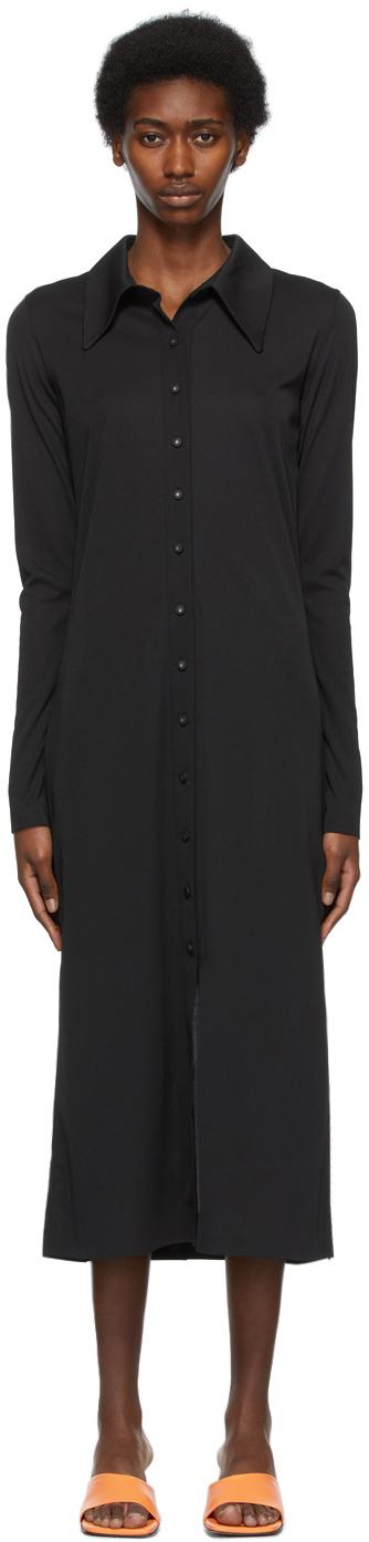LOW CLASSIC 黑色 Shirt 连衣裙