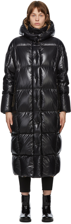 Moncler 黑色 Parnaiba 羽绒大衣