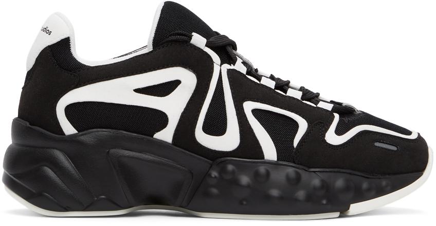 Acne Studios 黑色 & 白色 Rockaway 运动鞋