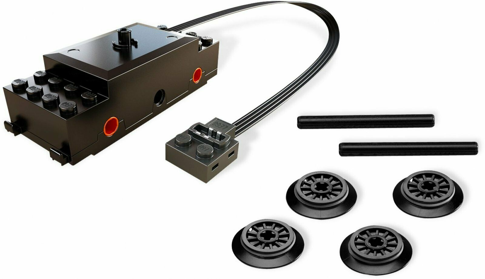 ☆勳寶玩具舖【現貨】LEGO 樂高 科技系列 Technical 88002 火車動力馬達輪軸組 Train Motor