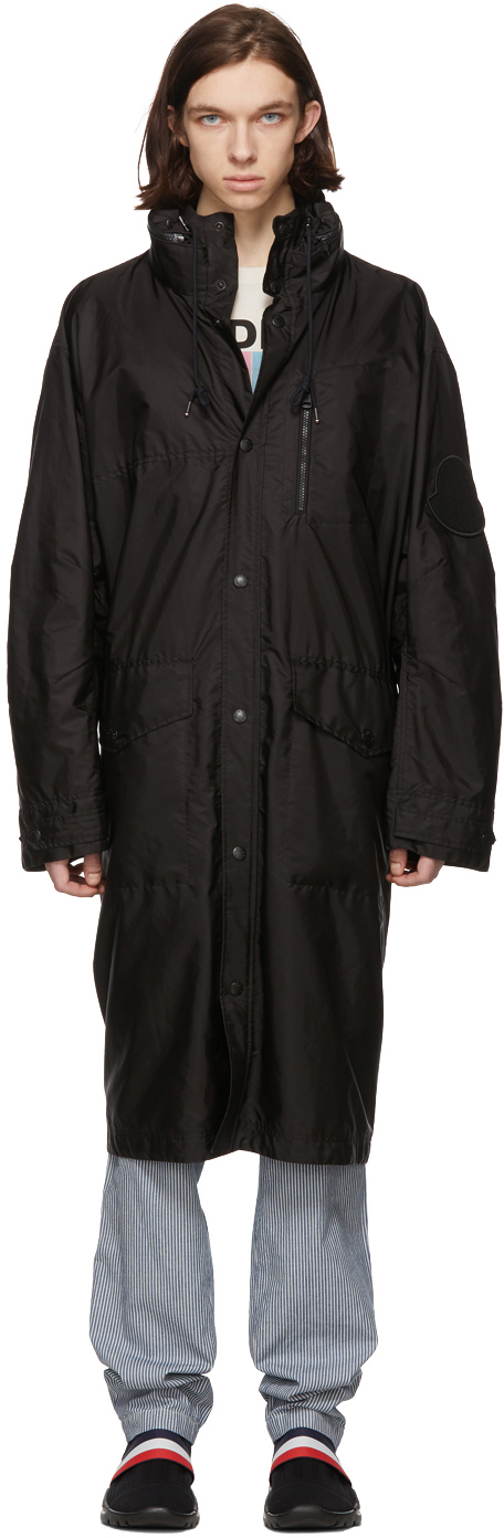Moncler Black Greg Coat