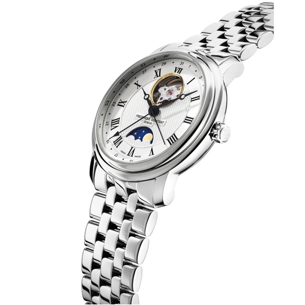 CONSTANT康斯登 月相開芯鏤空機械腕錶40mm(FC-335MC4P6B2)