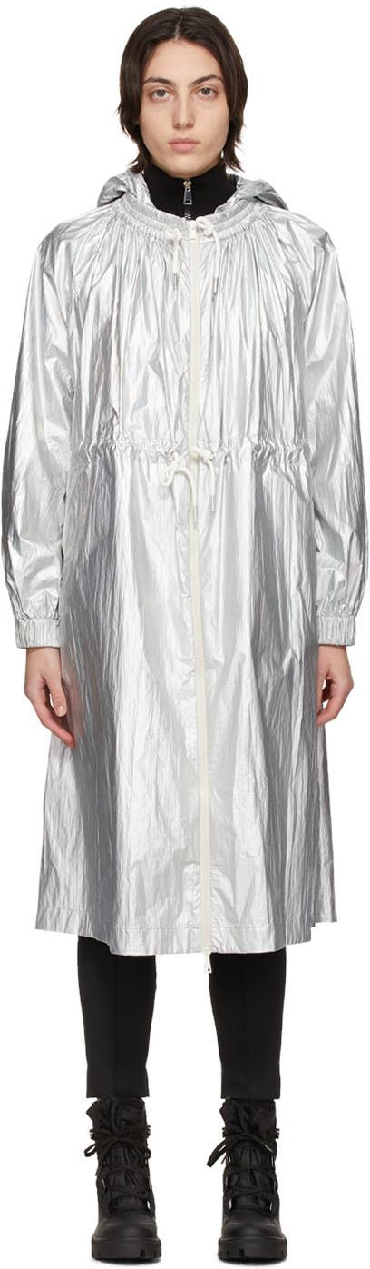 Moncler 银色 Akubens 大衣