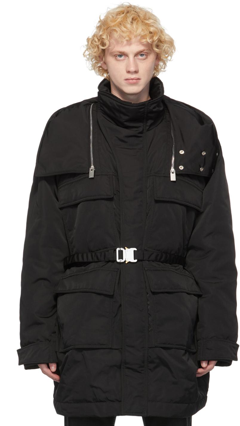 1017 ALYX 9SM 黑色 Fuoripista 派克大衣