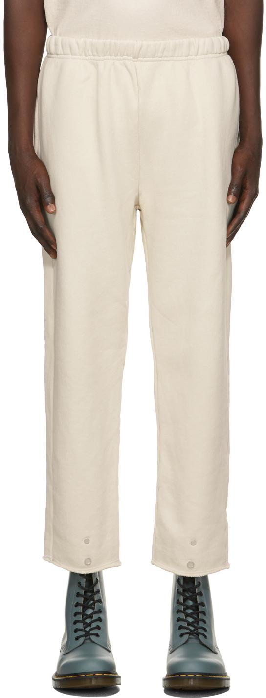 Les Tien 灰白色 Snap Front 运动裤