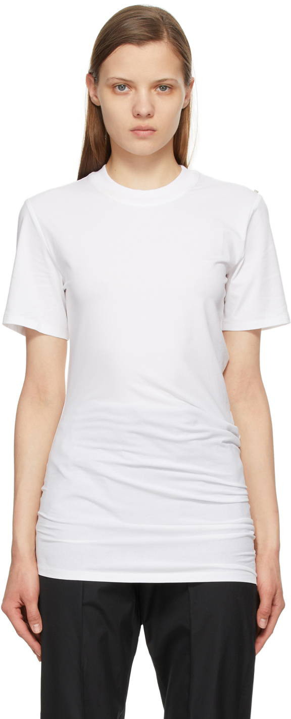Sportmax 白色 Fingere T 恤