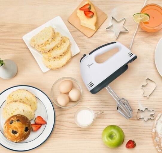 打蛋器 電動家用小型打蛋機自動奶油打發器攪拌和面烘焙工具套迷你