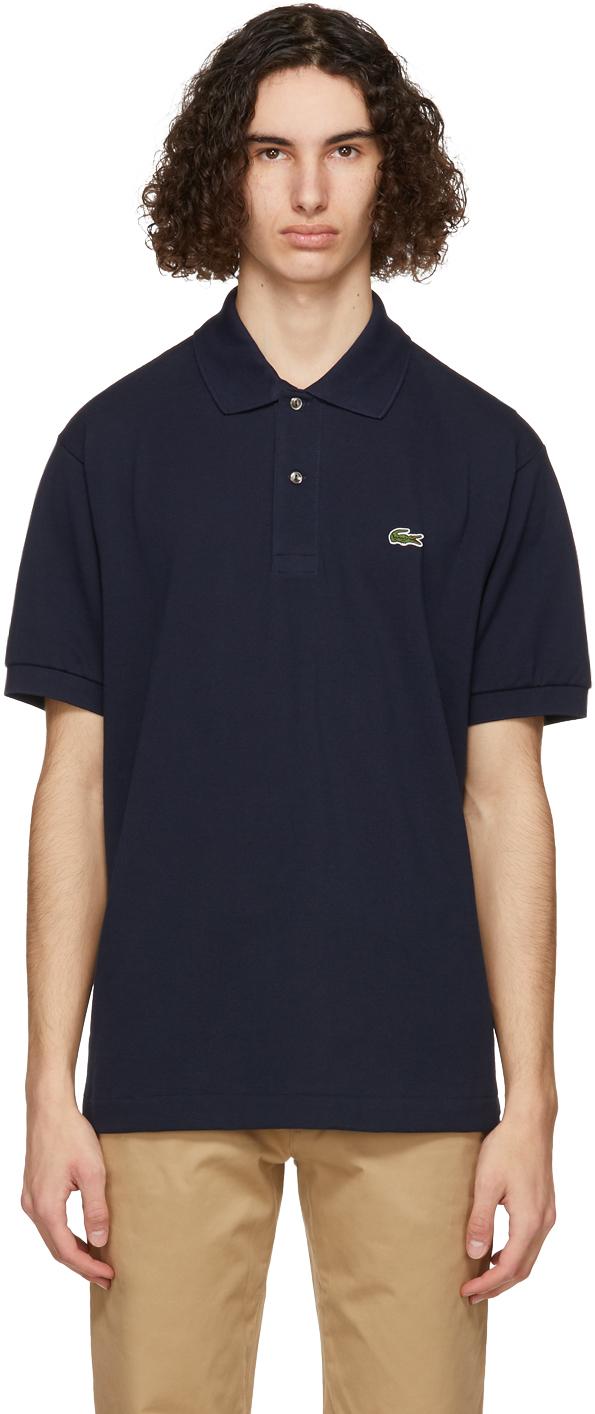 Lacoste 海军蓝 L.12.12 Polo 衫