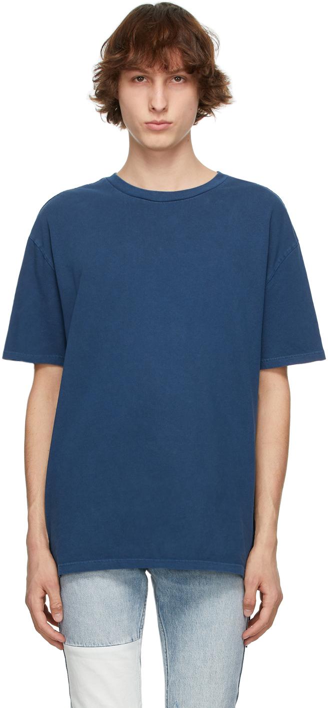 Ksubi 蓝色 Cross Logo Biggie T 恤
